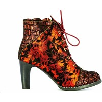 Chaussures Femme Low boots Laura Vita ALCBANEO2271Rouge Rouge