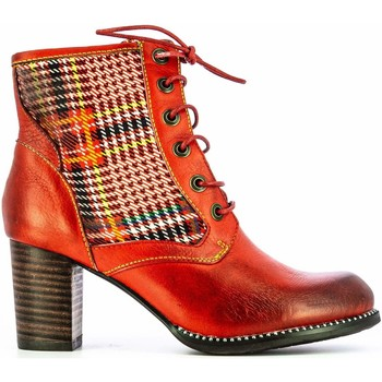 Chaussures Femme Bottines Laura Vita ANCNAO22Rouge Rouge