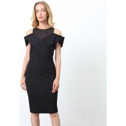 Vêtements Femme Robes courtes Smart & Joy Barytine Noir