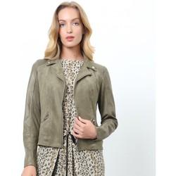 Vêtements Femme Vestes Smart & Joy Jaspe Vert olive