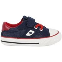 Chaussures Garçon Baskets basses Chika 10 24453-18 Bleu