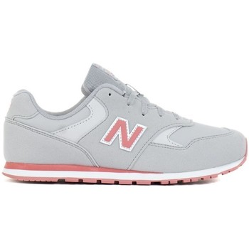 Chaussures Enfant Baskets basses New Balance 393 Gris, Rose