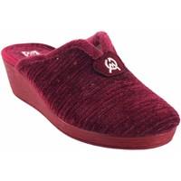 Chaussures Femme Chaussons Gema Garcia Rentrez chez vous lady  7114-2 bordeaux Rouge