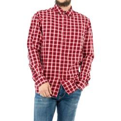 Vêtements Homme Chemises manches longues Aigle newtroncais  signature ch rouge