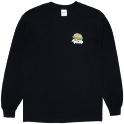 Vêtements Homme T-shirts manches longues Ripndip Fat hungry baby long sleeve Noir