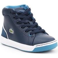 Chaussures Enfant Baskets montantes Lacoste Explorateur Lace Bleu marine
