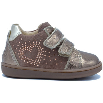 Chaussures Fille Baskets basses NeroGiardini Chaussure en cuir First Step Cipria