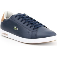 Chaussures Homme Baskets basses Lacoste Graduate Bleu marine