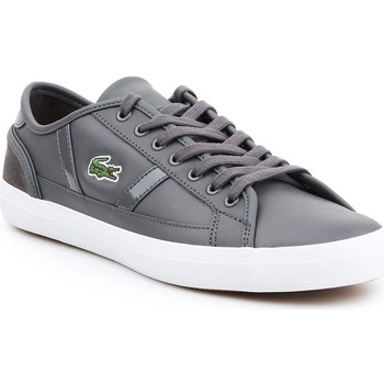 Chaussures Homme Baskets basses Lacoste Sideline Gris