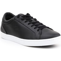 Chaussures Homme Baskets basses Lacoste Straightset Noir