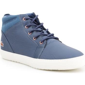 Chaussures Femme Boots Lacoste Ampthill Bleu