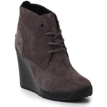 Chaussures Femme Bottines Lacoste Jarriselle Srw DK Marron