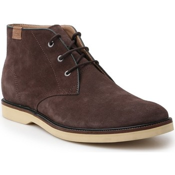 Chaussures Homme Boots Lacoste Sherbrooke HI Marron