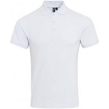 Vêtements Homme Polos manches courtes Premier PR630 Blanc