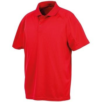 Vêtements Polos manches courtes Spiro SR288 Rouge