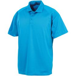Vêtements Polos manches courtes Spiro SR288 Bleu clair