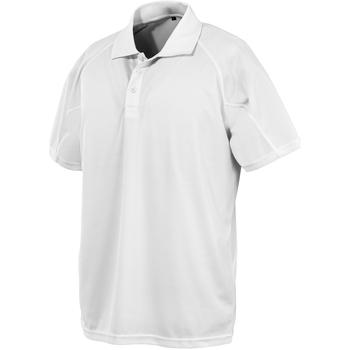 Vêtements Polos manches courtes Spiro SR288 Blanc