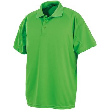 Vêtements Polos manches courtes Spiro SR288 Vert citron