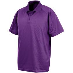 Vêtements Polos manches courtes Spiro SR288 Violet
