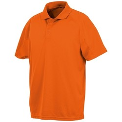 Vêtements Polos manches courtes Spiro SR288 Orange vif