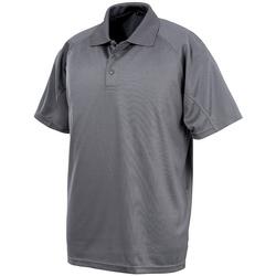 Vêtements Polos manches courtes Spiro SR288 Gris