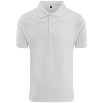 Vêtements Homme Polos manches courtes Awdis JP002 Blanc