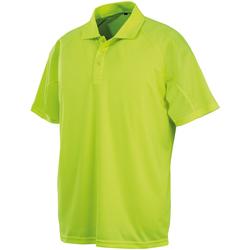 Vêtements Polos manches courtes Spiro SR288 Vert fluo