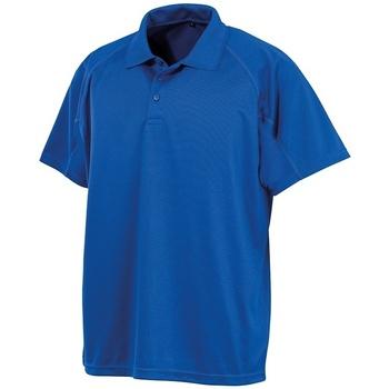 Vêtements Polos manches courtes Spiro SR288 Bleu roi
