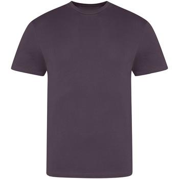 Vêtements Homme T-shirts manches courtes Awdis JT100 Violet foncé