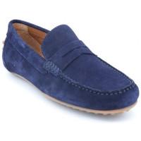Chaussures Homme Mocassins Moc's 14j198 Bleu