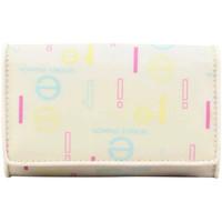 Sacs Femme Portefeuilles Elite Porte monnaie  E8733 toile nylon blanc motif imprimé blanc