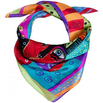 Accessoires textile Femme Echarpes / Etoles / Foulards Allée Du Foulard Carré de soie Piccolo Friendly Pets multicolore