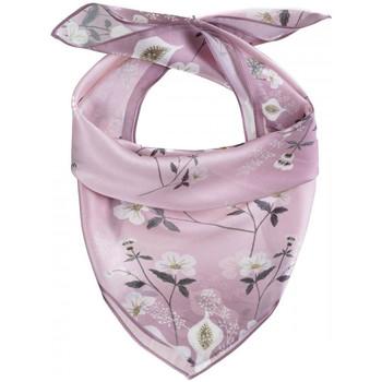 Accessoires textile Femme Echarpes / Etoles / Foulards Allée Du Foulard Carré de soie Piccolo Dolce rose