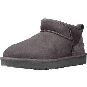 Chaussures Femme Bottines UGG Classic Ultra Mini Gris
