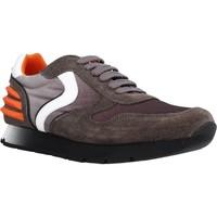 Chaussures Garçon Baskets basses Voile Blanche LIAM POWER LACCIO Marron