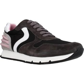 Chaussures Fille Baskets basses Voile Blanche LIAM POWER LACCIO Noir