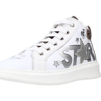 Chaussures Fille Baskets basses Naturino TISBE ZIP Blanc