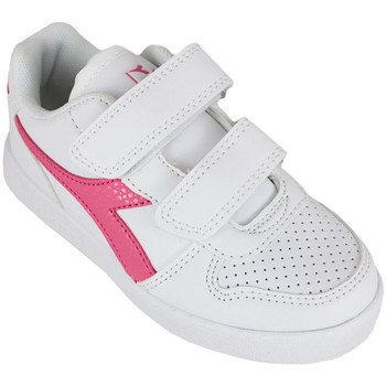 Chaussures Fille Baskets basses Diadora playground ps girl c2322 Rose