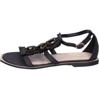 Chaussures Femme Sandales et Nu-pieds Jeannot BK788 Noir