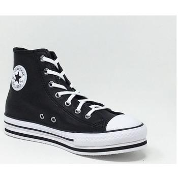 Chaussures Baskets montantes Converse CONVERSE CTAS PLATFORM EVA HI NOIR Noir