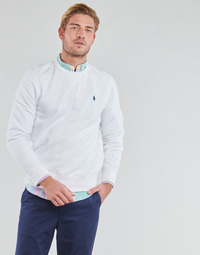 Vêtements Homme Sweats Polo Ralph Lauren SWEAT COL ROND MOLTONE EN COTON Blanc