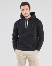 Vêtements Homme Sweats Polo Ralph Lauren SWEAT A CAPUCHE MOLTONE EN COTON Noir