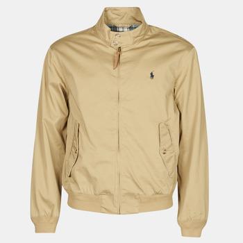 Vêtements Homme Blousons Polo Ralph Lauren BLOUSON BARACUDA COTON DOUBLE Beige