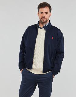 Vêtements Homme Blousons Polo Ralph Lauren BLOUSON BARACUDA COTON DOUBLE Bleu