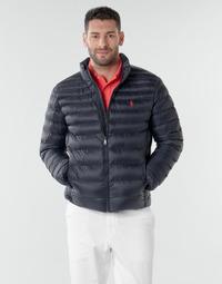 Vêtements Homme Doudounes Polo Ralph Lauren BLOUSON DOUDOUNE EARTH POLO EN NYLON RECYCLE ET PRIMALOFT Marine