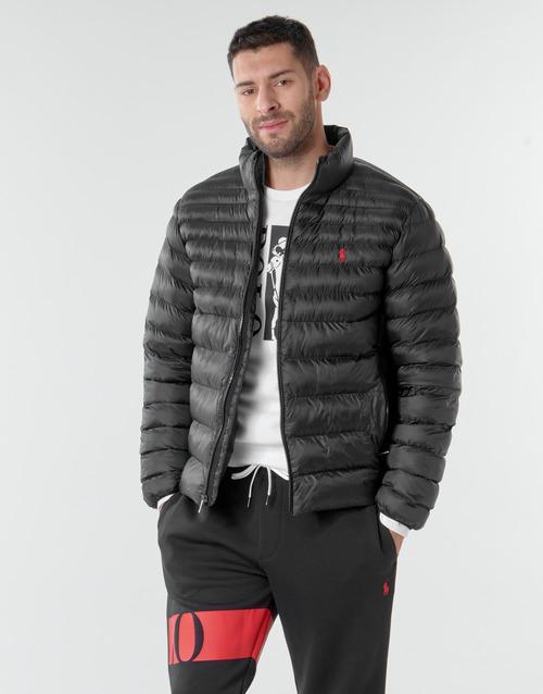 Vêtements Homme Doudounes Polo Ralph Lauren BLOUSON DOUDOUNE EARTH POLO EN NYLON RECYCLE ET PRIMALOFT Noir