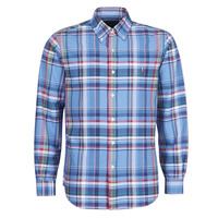 Vêtements Homme Chemises manches longues Polo Ralph Lauren CHEMISE AJUSTEE EN OXFORD COL BOUTONNE  LOGO PONY Multicolore