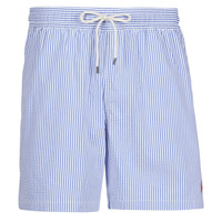 Vêtements Homme Maillots / Shorts de bain Polo Ralph Lauren MAILLOT SHORT DE BAIN RAYE SEERSUCKER Bleu