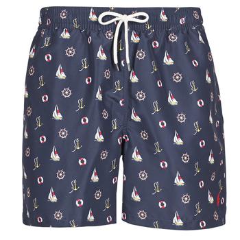 Vêtements Homme Maillots / Shorts de bain Polo Ralph Lauren MAILLOT SHORT DE BAIN IMPRIME MICRO-MOTIFS Marine