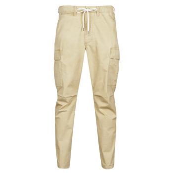 Vêtements Homme Pantalons cargo Polo Ralph Lauren SHORT PREPSTER AJUSTABLE ELASTIQUE Beige